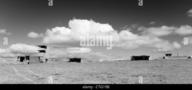 Orkney Islands, Graemeshall Gun Battery - Stock Image