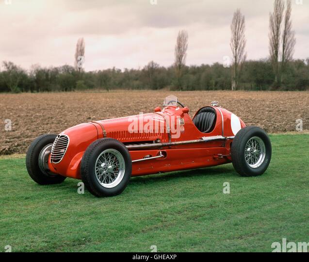 1937 Maserati 6CM 1.5 litre supercharged Vetturetta single seat racing car - Stock Image