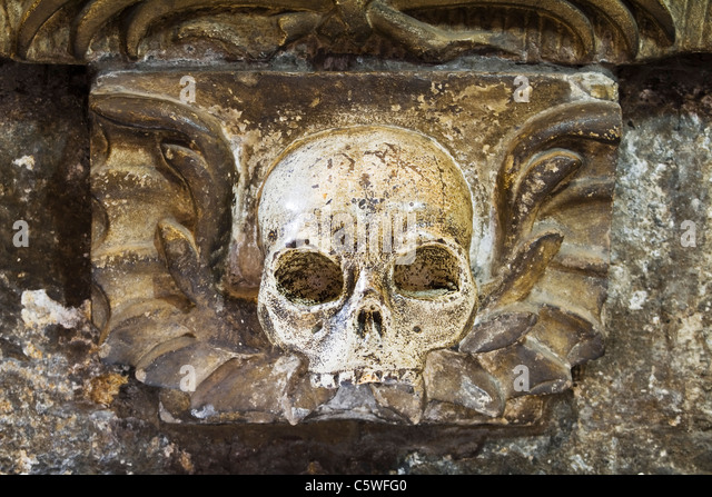 Death valley skull stock photos