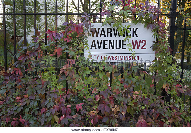 London, View of Warwick Avenue. (Photo by: JTB/UIG via Getty Images) - Stock Image