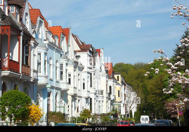 Alte Bremer Haeuser  in Bremen-Schwachhausen, Bremen, Deutschland, Europa  I Old Houses i in Bremen-Schwachhausen, - Stock-Bilder