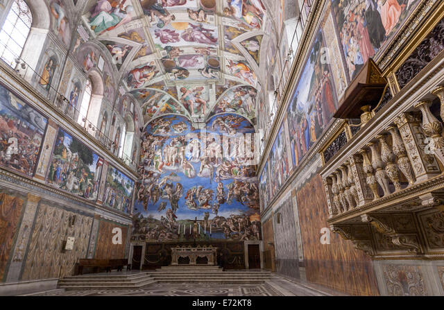 analysis of the sistine chapel Sesión 3: how to analyse a sculpture david sesión 4: how to analyse a  painting sistine chapel ceiling sesión 5:how to analyse a building st peter's .