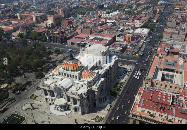 Palacio de Bellas Artes, Historic Center, Mexico City, Mexico, North America - Stock Image