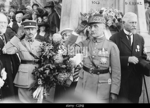 Marshall Foch - Stock Image