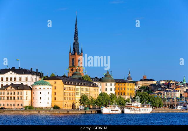 Riddarholmen in Gamla Stan, Stockholm - Stock Image