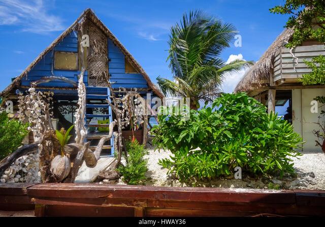 Tropical Island Beach Hut: Coconut Hut Stock Photos & Coconut Hut Stock Images