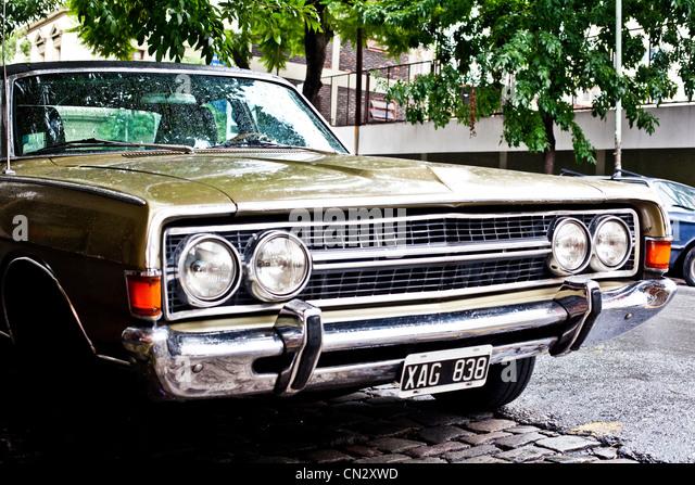 Classic car - Stock Image