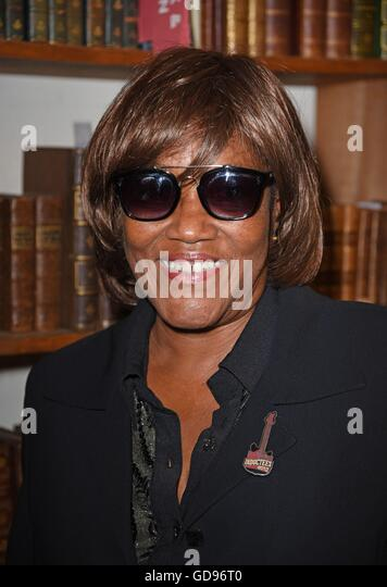 New York, NY, USA. 14th July, 2016. Gloria Jones at in-store appearance for The Lost Rockers: Broken Dreams and - Stock Image