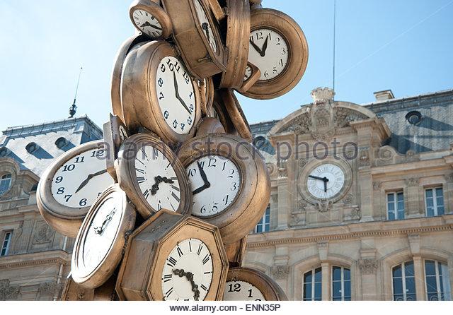 Paris, Gare d Austerlitz - Stock Image
