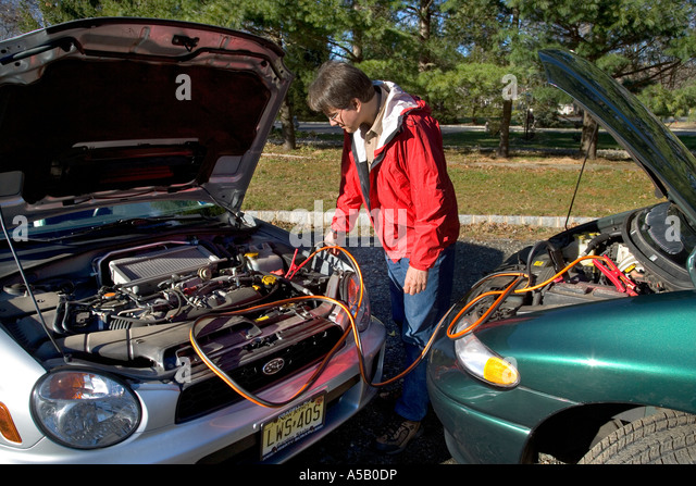how to start a car battery dead
