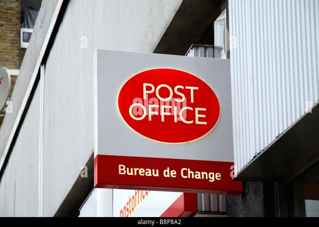 Post office logo stock photos post office logo stock - Post office bureau de change buy back ...