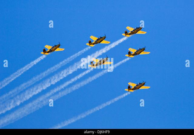 Lima Lima Aerobatic Flight Team - Stock Image