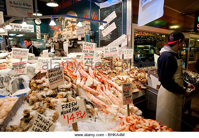 Fish market usa stock photos fish market usa stock for Bud s fish market