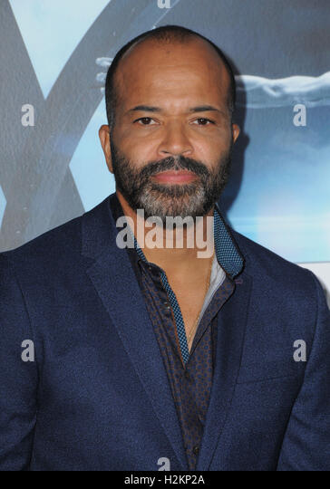 Hollywood, CA, USA. 28th Sep, 2016. 28 September 2016 - Hollywood, California. Jeffrey Wright. Los Angeles premiere - Stock Image