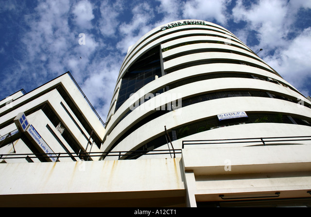 RSC75077 Modern Indian architecture building Andheri west Mumbai Maharastra India - Stock-Bilder