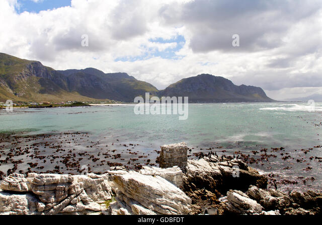 Pringle Bay beach, Western Cape Province of South Africa - Stock Image