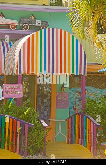 Florida Captiva Island Bubble Room - Stock Image