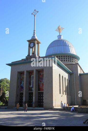 District Europia, Debre Lebanon Monastery Lipanus, pilgrimage - Stock Image