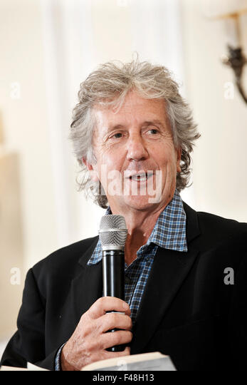Blake Morrison at The Oldie Literary Lunch 13-10-15 - Stock Image