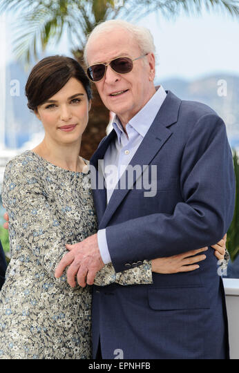 Cannes, France. 20th May, 2015. Rachel Weisz and Michael Caine at photocall for 'Youth' 68th Cannes Film - Stock Image