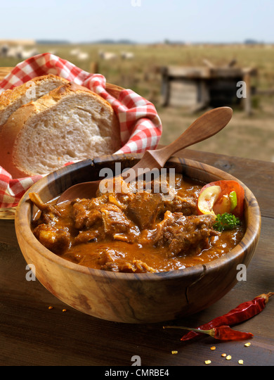 mutton stew - Stock Image