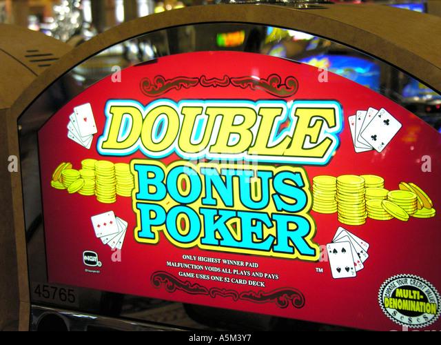 Las Vegas casino slot machine - Stock Image