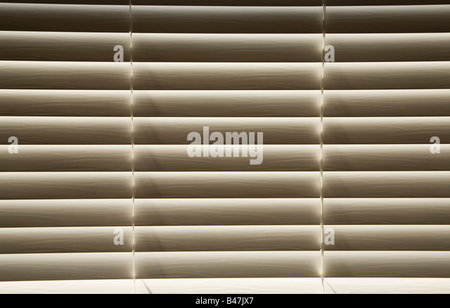 Venetian blinds - Stock Image