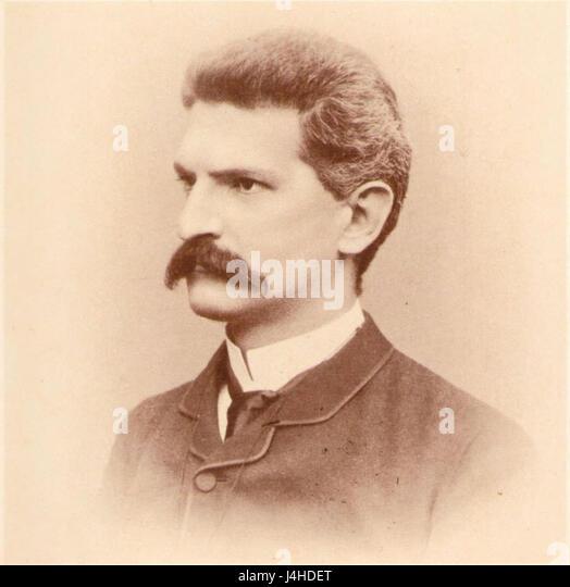 Sidney Sonnino giovane - Stock Image