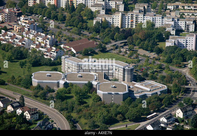 This Overlook shows one part of the German Archive in Koblenz, Rhineland-Palatinate, Germany. - Stock-Bilder