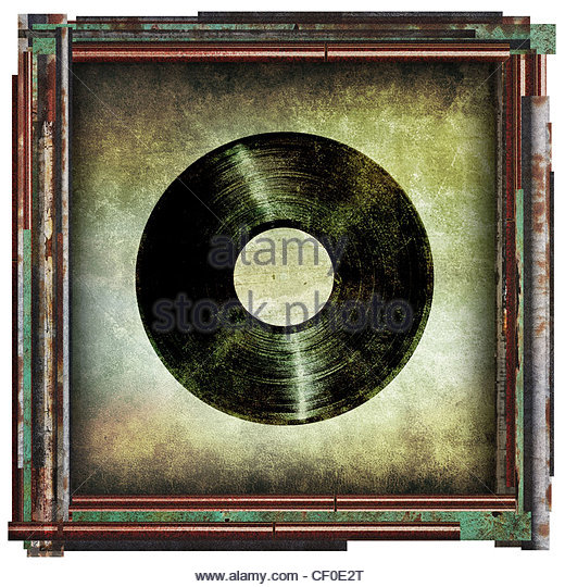 record picture - Stock Image