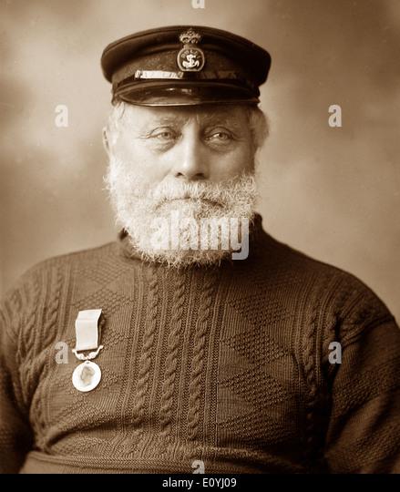 James Haylett Caister Lifeboat Disaster in 1901 - Stock-Bilder