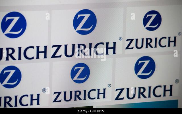Loge der Marke 'Zurich', Berlin. - Stock Image