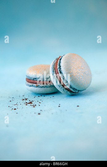 two cookies - Stock Image