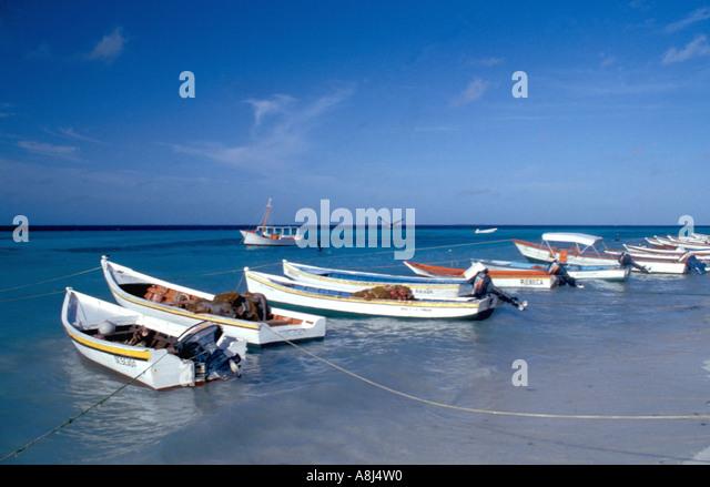 Los Roques Archipelago National Park Venezuela, Gran Roque - Stock Image