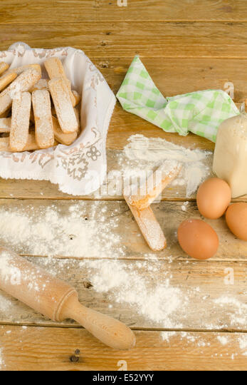 Ladyfinger stock photos ladyfinger stock images alamy for Table 52 goat cheese biscuits