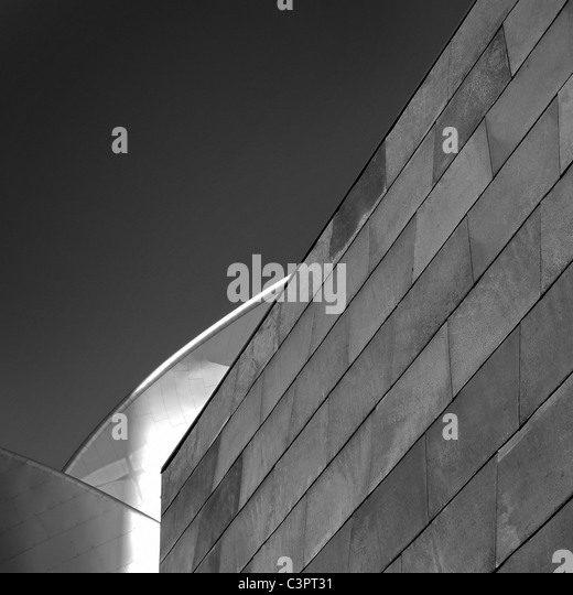 Canadian Cities, Architectural Details, The Art Gallery of Alberta, Edmonton Alberta Canada. - Stock Image