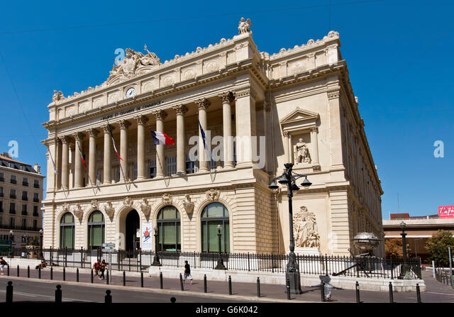 La bourse de commerce stock photos la bourse de commerce for Chambre de commerce et industrie marseille