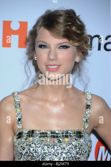 TAYLOR SWIFT - US singer and film actress in January 2010 - Stock-Bilder