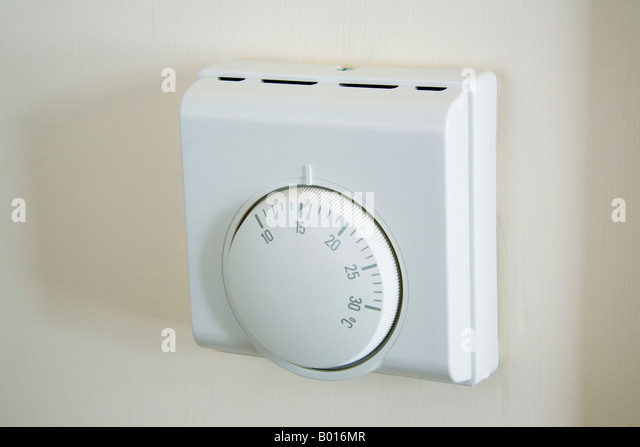 how to change a wall mounted thermostat
