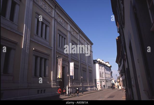 BASEL Museum der Kulturen in Grossbasel - Stock-Bilder