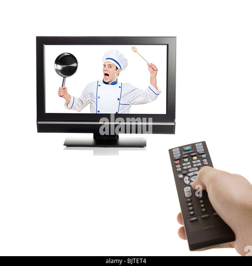 Command And Control Stock Photos amp Command And Control  : chef struggling to escape from inside a tv bjtet4 from www.alamy.com size 513 x 540 jpeg 31kB