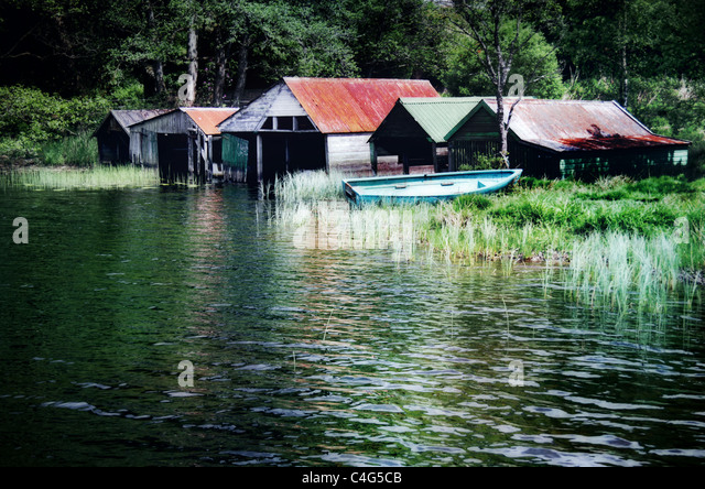 boathouse - Stock-Bilder
