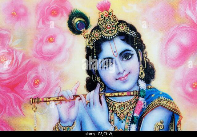 Krishna. - Stock Image