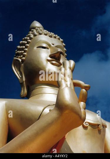 Buddha says ok - Stock Image