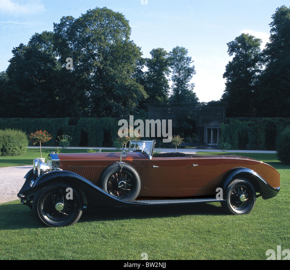 Vintage Rolls Royce Convertible Stock Photos & Vintage