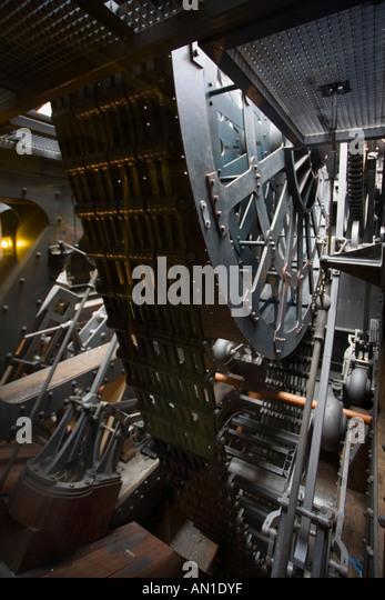 Steam Ship Engine Room: Industrial Revolution 19th Stock Photos & Industrial