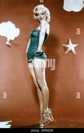 MARILYN MONROE ACTRESS (1955) - Stock Image