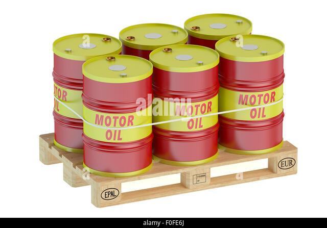 Barrel pallet stock photos barrel pallet stock images for Motor oil by the barrel
