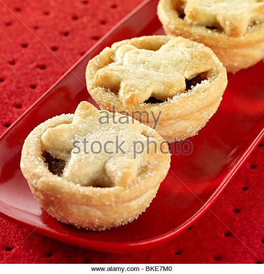 Waitrose mini mince pies - Stock Image