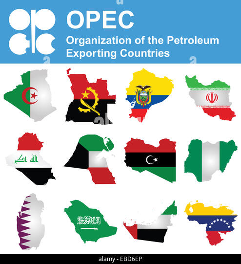 Organization of the Petroleum Exporting Countries - Stock Image